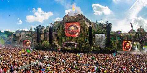 Tomorrowland 2016 stage