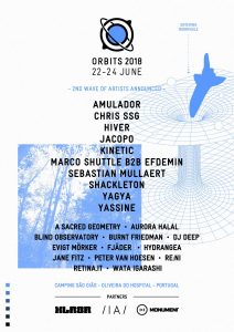 Orbits Festival 2018 phase 2