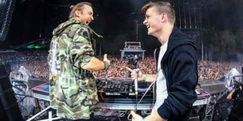Martin Garrix and David Guetta