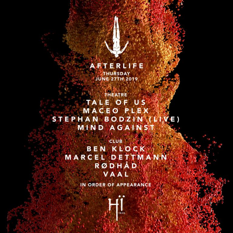 Afterlife at Hï Ibiza 2019