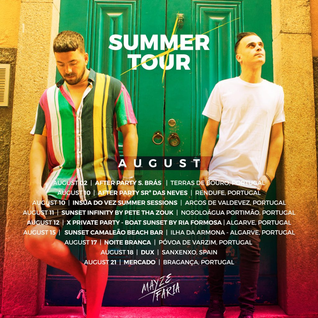 Mayze X Faria Summer Tour